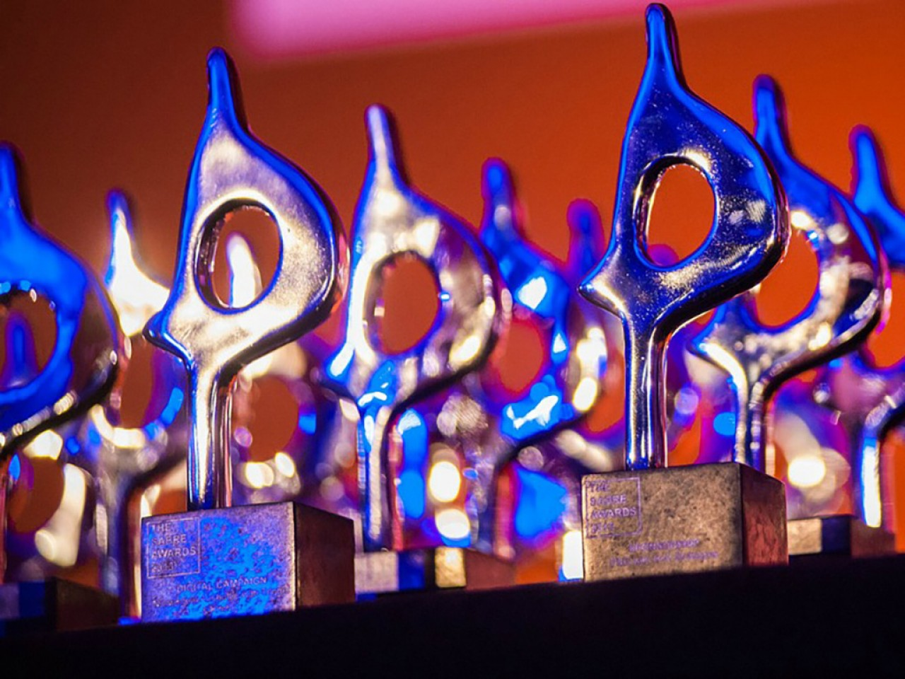 Celebrating wins at the EMEA SABRE Awards
