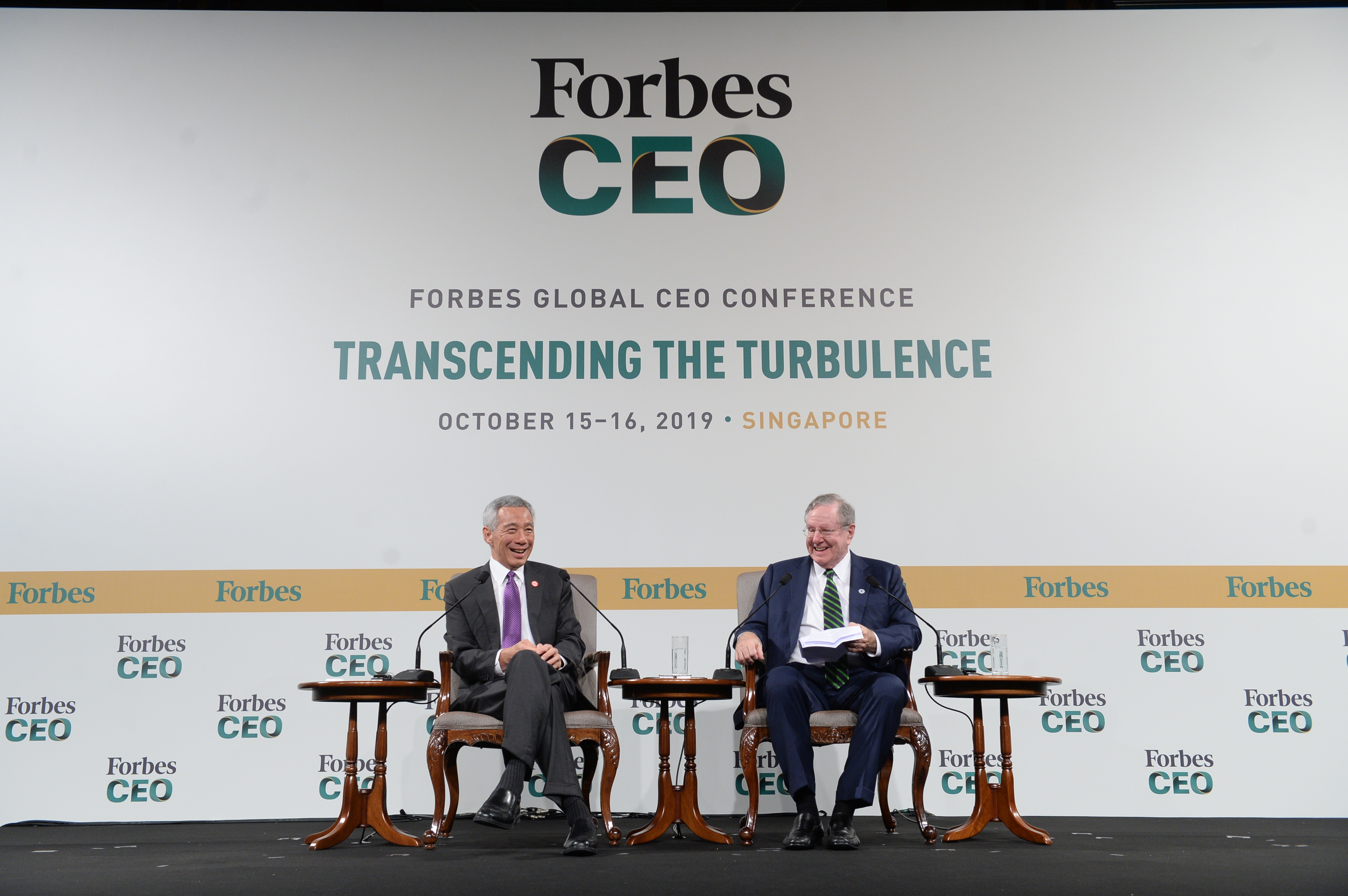 Weber Shandwick Sponsors the 19th Forbes Global CEO Conference